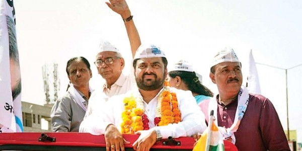 Gujarat: AAP to contest from only one seat after high command refuses five