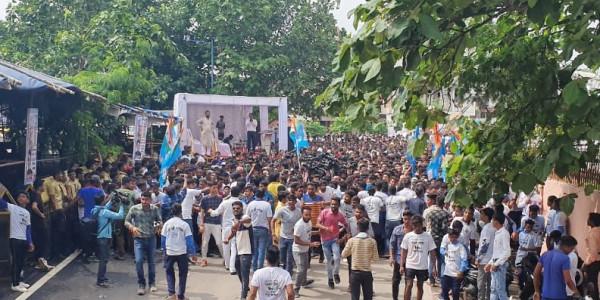 रायपुर में कुपोषण के खिलाफ हुई हाफ मैराथन, सीएम ने दिखाई हरी झंड़ी