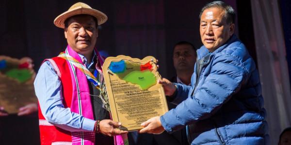 arunachal-pradesh-cm-inaugurates-new-district