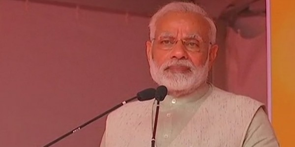 pm-narendra-modi-lays-the-foundation-stone-in-hubli-karnataka-said-we-reform