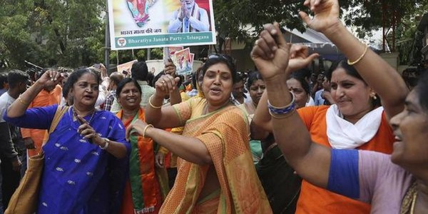 Double delight for BJP in Telangana