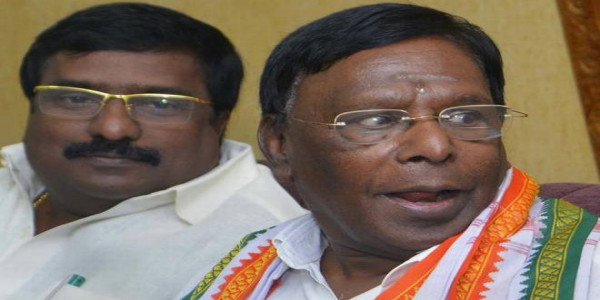 BJP trying to seize control of T.N. govt.: Narayanasamy