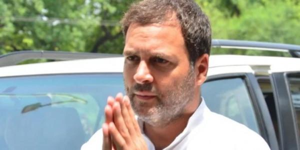 कांग्रेस अध्यक्ष राहुल गांधी लड़ेंगे किसानों की लड़ाई