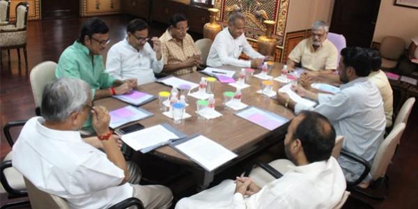 राजस्थान विधानसभा में सर्वदलीय बैठक आयोजित, बजट सत्र कल से