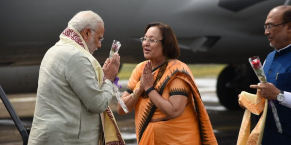 Amid boycott call security beefed up in Manipur ahead of Modis visit