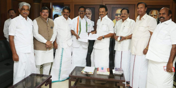 Stop trolling TN Min Pandiarajan: Stalin urges cadres after protest
