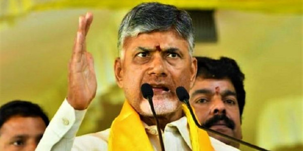 'Mafia backed by Jagan created sand scarcity in Andhra': Naidu sits on hunger strike