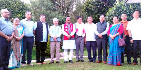 Sikkim CM to attend NEC meet in Guwahati