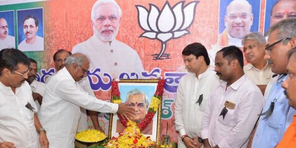 Leaders mourn BJP patriarch
