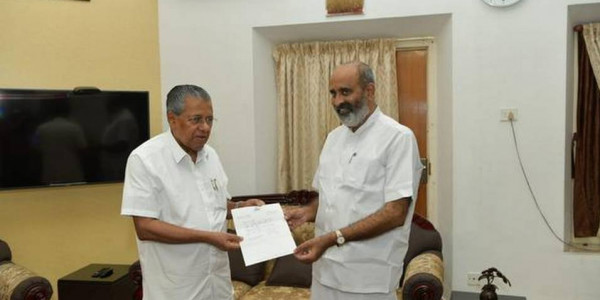 Kerala water resources minister resigns