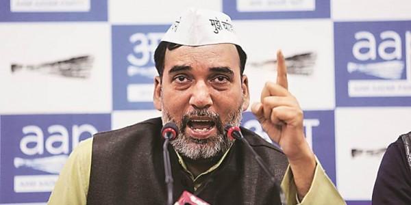 अकेले चुनाव लड़कर बीजेपी की मदद कर रही है कांग्रेस: गोपाल राय