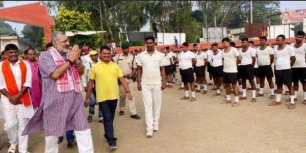 पटना में 'रन फॉर यूनिटी' में रविशंकर प्रसाद, बेगूसराय में दौड़े गिरिराज