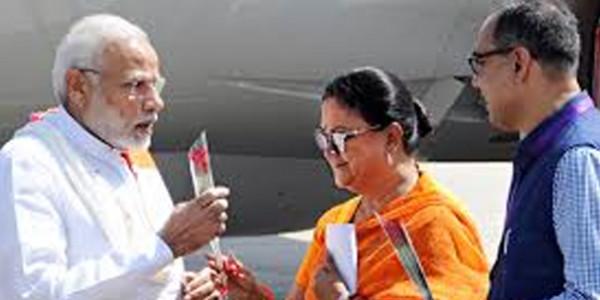 पूर्व CM वसुंधरा राजे भी मोदी सरकार से नहीं ले सकी थी बकाया सीएसटी की धनराशि
