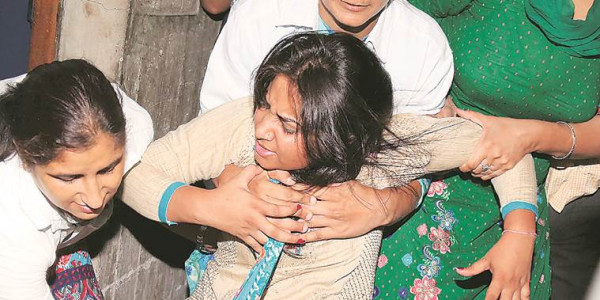 We lived through hell today, say AAP's women MLAs