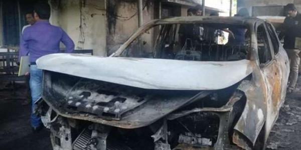 ओडिशाः बीजद विधायक ब्रजकिशोर प्रधान के आवास पर उपद्रवियों ने लगाई आग