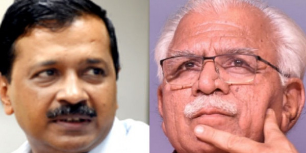 kejriwal asked resignation to cm khattar