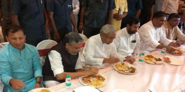बिहार में NDA का भाईचारा भोज, नहीं पहुंचे उपेंद्र कुशवाहा, दी ये सफाई