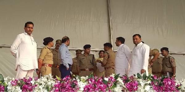 मुख्यमंत्री योगी की जनसभा के लिए भाजपा नेताओं ने झोंकी ताकत, अफसर भी रहे मुस्तैद