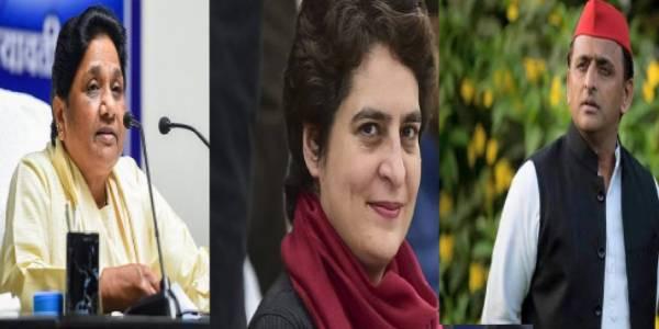 कांग्रेस-सपा-बसपा में सुर्खियाँ बटोरने की होड़