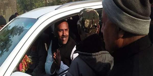 झारखंड में मंडल डैम का विरोध, कांग्रेस की पदयात्रा को पुलिस ने रोका, पूर्व मंत्री केएन त्रिपाठी हिरासत में