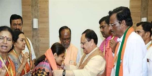 पूर्व सांसद धनंजय सिंह की पत्नी भाजपा में शामिल, तलाशे जा रहे सियासी मायने