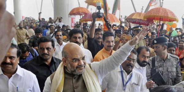 Sabarimala remark: Opposition slams Amit Shah, wants Supreme Court to take cognizance
