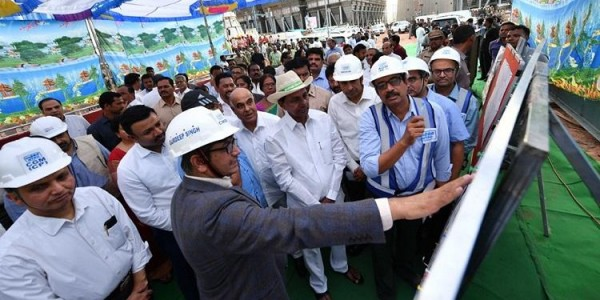 CM KCR visits NTPC plant in Telangana, seeks 2,000 MW power