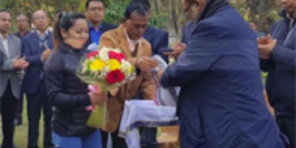 Manipur Government awards Rs 20 lakh to Mirabai Chanu