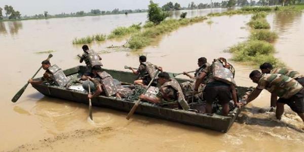 कैप्टन के Tweet के बाद बाढ़ प्रभावित राज्यों में पंजाब भी शामिल, केंद्रीय टीम करेगी दौरा