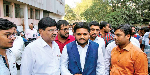 Hardik Patel appears before Punj commission
