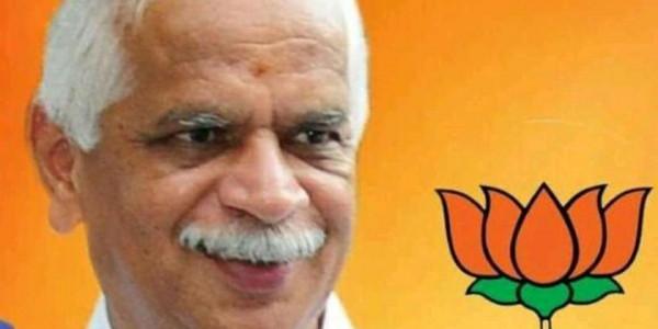 Jayanagar BJP Lawmaker BN Vijayakumar Dies Of A Heart Attack During Election Rally