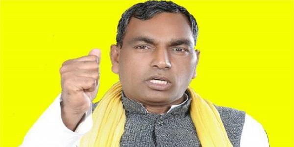 कैबिनेट मंत्री ओम प्रकाश राजभर ने सपा-बसपा के गठबंधन को बताया दगा कारतूस
