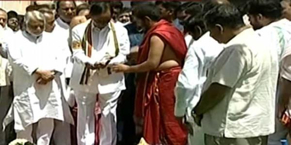 Groundbreaking ceremony held for new Legislative assembly in Telangana