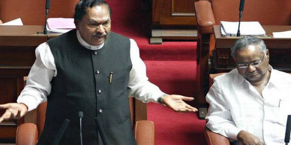 Chaos in Council over Eshwarappa's remark