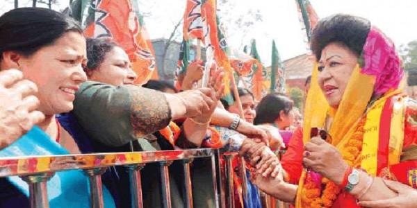 राज्य लक्ष्मी शाह बोलीं, ये चुनाव मैं नहीं, पीएम और हर कार्यकर्ता लड़ रहा है