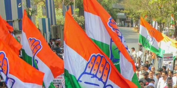 Action sought against Congress leaders for working against party