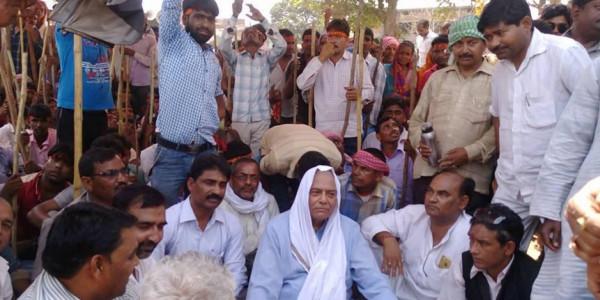 Former Union minister Yashwant Sinha, Hazaribag MLA, supporters arrested