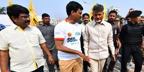 Chandrababu Naidu to file 'private cases' against YSRC government