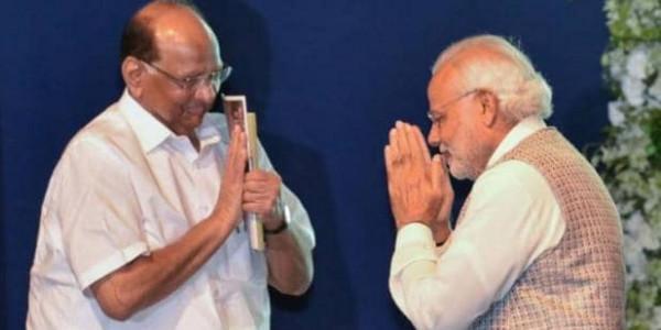 महाराष्ट्र में कुर्सी की उठा-पटक के बीच PM मोदी ने संसद में NCP को सराहा