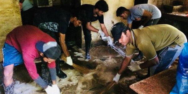 Mission to tidy up habitations