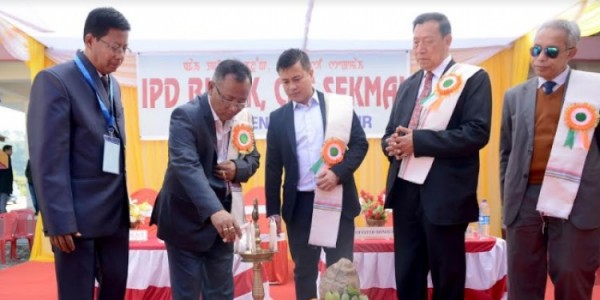 Manipur Health Minister dedicates health centre to people of Imphal West's Sekmai