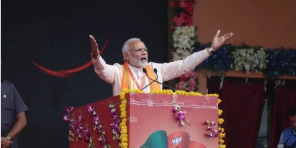 भाजपा महाकुंभ में बोले पीएम मोदी- जितना कीचड़ उछालोगे, उतना ही कमल खिलेगा