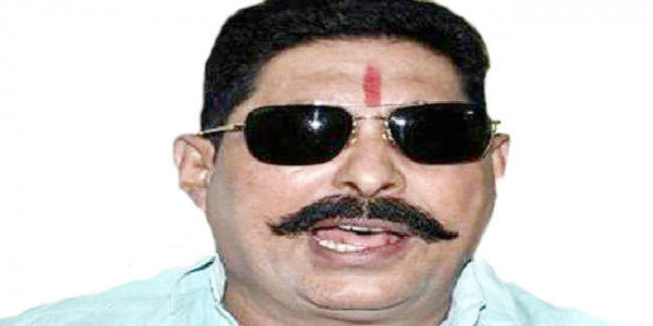 अनंत सिंह पर कसा शिकंजा, सरकार ने गृहमंत्री से की लुक आउट नोटिस जारी करने की अनुशंसा