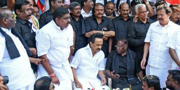 BJP trying to grab power in Puducherry through backdoor tactics: Stalin
