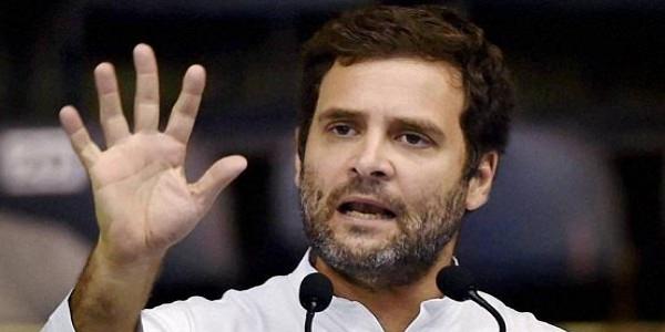 राहुल ने जमकर निकाली भड़ास, कहा- 15 लोगों की राजनीति करते हैं PM मोदी