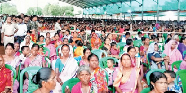 Thin crowd at TMC's counter meeting