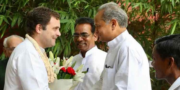 Remain The Congress Chief, Gehlot Tells Rahul