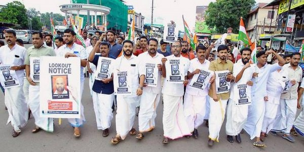 Youth Congress 'lookout notice' for Binoy Kodiyeri