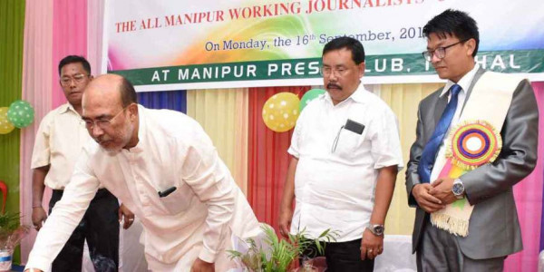 मणिपुर के मुख्यमंत्री ने कहा कि हम मीडिया से 'रचनात्मक आलोचना' का स्वागत करते हैं