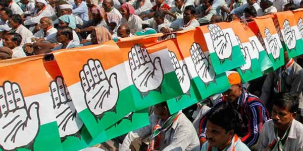 Gujarat: Congress takes out march to protest against groundnut adulteration